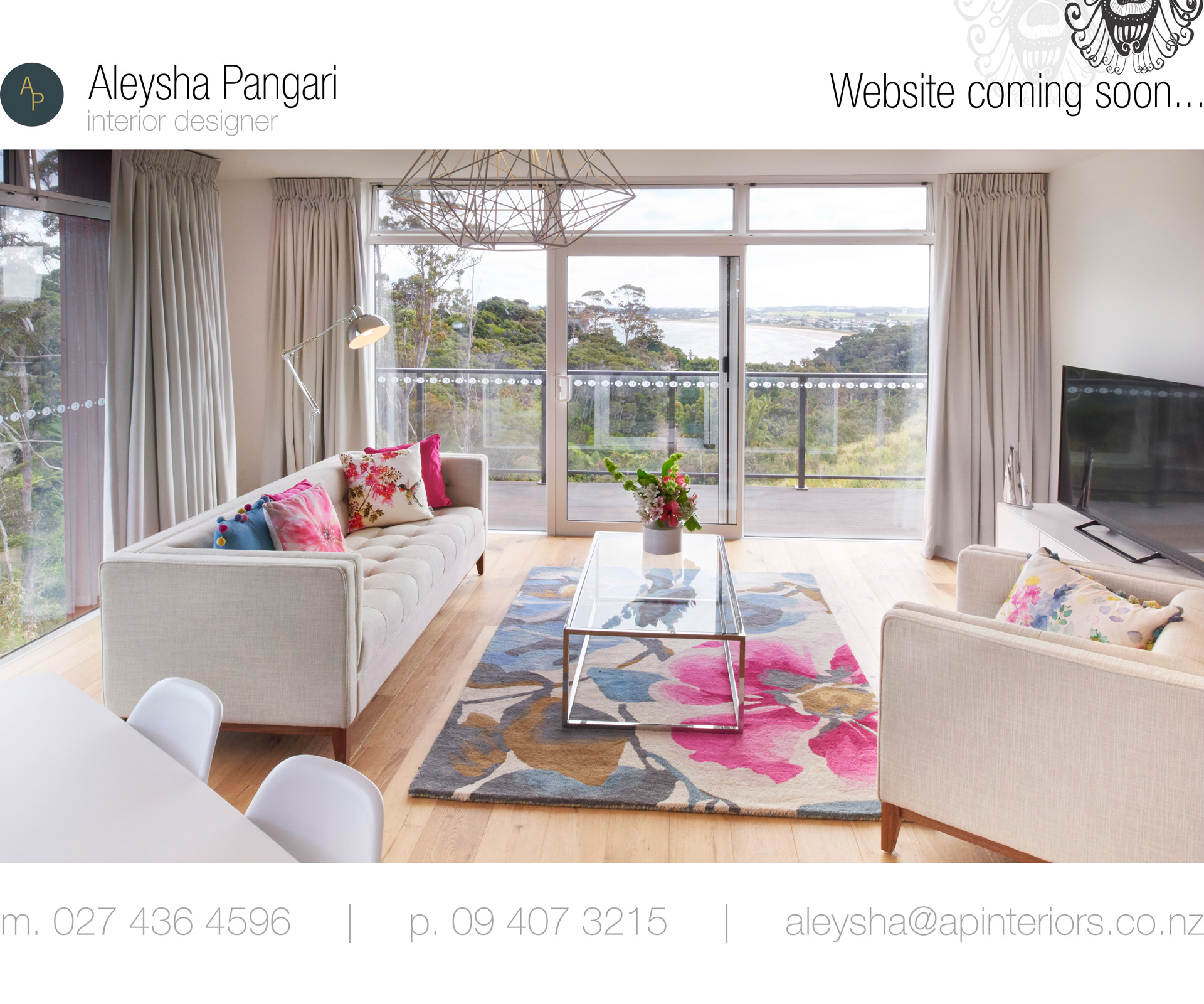 Aleysha Pangari Interior Design Kerikeri, Bay of Islands